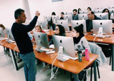 En nuestro aula Mac